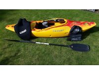 Dagger GT 7.8 White Water River Running Kayak, Paddle and Spraydeck RRP £750