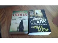 2 paperback books by various authors. Genre: Crime / Thriller / Mystery.