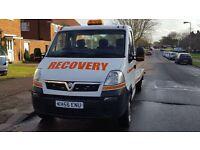 Recovery truck Vauxhall Movano new full aluminium body