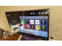 "LG 42"" 42LF580V Smart FULL HD TV with built in Wifi,Freeview HD, Netflix,Youtube,NO BASE STAND"