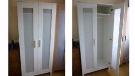 FREE Assembled white wardrobe