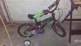 Boys ben 10 bike