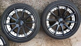 18in alloy wheels