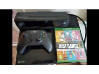 Xbox one + kinect + Just Dance