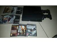 PS3, 9 games and 2 controllers