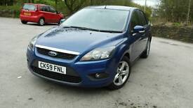 59 plate Ford Focus 1.6 Zetec very low mileage 56000 full service history