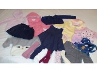 Girls' clothing bundle 12-18 months, super condition. Less than £1 per item - a bargain!