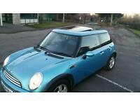 2004 Mini cooper panoramic roof electric blue new shape model cat d