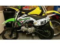 Yx140 pitbike