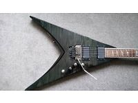 ESP LTD V401DX STBK electric guitar for sale. In good condition.