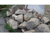 Rockery stone 50 various size