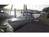 Jaguar 25 lifting keel sailing boat yacht