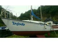 trapper 28ft Saling yacht