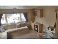 3 BED static caravan for sale on Pet friendly Holiday Park / 12 month season