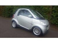 SMART FORTWO 2009 59 REG NEW MODEL WITH START STOP TOP OF THE RANGE PASSION AUTOMATIC FULL HISTORY