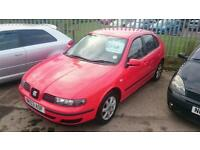 SEAT LEON 1.6 PETROL ONE OWNER FROM NEW LONG MOT