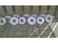 bulldog metal/steel cutting discs sixe 180x3,2x22 12 discs in total