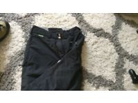 Ladies Columbia size small (10) ski trousers /salopettes