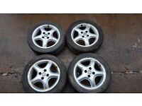 """Vauxhall 15"""" Alloy Wheels (Corsa, Astra, Tigra, Nova)"""