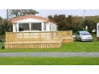 3 bed static caravan in Cloughey