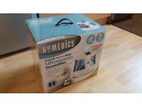 HoMEDICS 6litre Humidifier (New & boxed) Cool & Warm Ultrasonic Mist