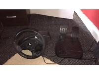PS4 steering wheel