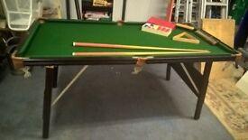 Ambasador 4x6 snooker table
