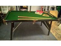 Ambasador 4x6 snooker table
