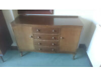 Sideboard c1960's in need of restoration ** COLLECTION ONLY **