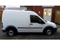 08 PLATE FORD TRANSIT CONNECT T230 L 110 LONG WHEEL BASE HIGH ROOF 1.8 DIESEL