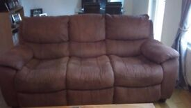 For Sale 2 seater sofa and 3 seater sofa.