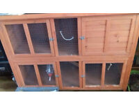 Rabbit hutch for sale - pick up required. £75 ONO