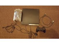 PS3 Slim Console (320 GB Model), 7 games, 1 controller, 1 HDMI cable and 1 controller charging cable