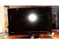 32 Inch screen Technika TV with Freeview. 1 x USB 2 x HDMI