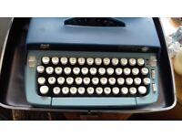 Sterling vintage typewriter.