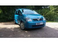 VAUXHALL MERIVA 1.6 GREAT FAMILY CAR LOW MILLAGE
