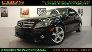 2009 Mercedes-Benz C-Class C300 4MATIC | Sunroof | Bluetooth | L