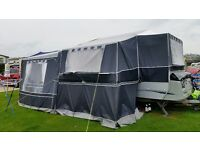 Conway Countryman 2010 4 berth lightwt folding camper, fitted kitchen, heater, hot and cold water