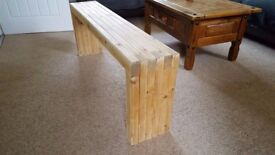 4 Ft wooden bench for sale