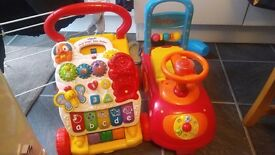 Used baby Walker and ride-on