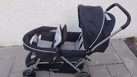 Safety 1st Tandum - Double Pushchair buggy