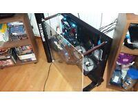God Spec Gaming PC - I7 5960x 4.5Ghz (8 C/16 T), GTX 1080 Ti, 250GB PCI-E SSD, Platinum rated PSU.
