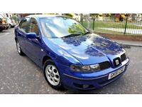 seat toledo 1.9 tdi diesel manual 51 plate 2002 metallic blue