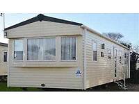 8 Berth static caravan for sale on a quiet location