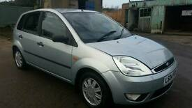 2004 FORD FIESTA GHIA 1.4 LOW MILEAGE ONLY 70K