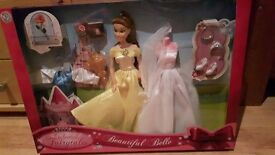 Beautiful Belle doll (brand new)