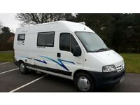 WildAx campervan with toilet, shower, fridge, job and grill etc. 3 berth, 4 travelling seats