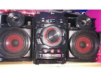 LG mini hi fi system