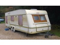 lmc 5-6 berth twin axle caravan