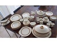 Royal Doulton, Harlow Full Dinner, Tea and Coffee set